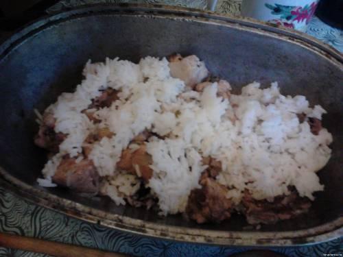 Иранский плов – кулинарный рецепт